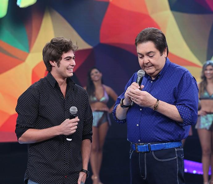 Rafael Vitti  falou sobre o novo persanagem na novela 'Velho Chico' (Foto: Carol Caminha/Gshow)