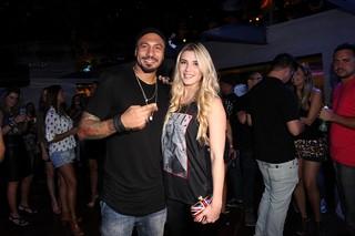 Ex-BBBs Fernando Medeiros e Aline Gotschalg em festa no Rio (Foto: Marcos Serra Lima/ EGO)
