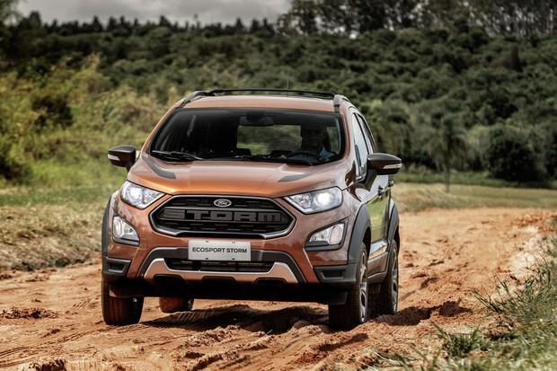 Por R 100 Mil Ford Ecosport Ganha Versao 4x4 Storm Mas Mantem