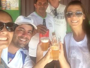Eduardo visitou Palmas e conheceu o Novo Bar do Araújo (Foto: Maria Amelia/Arquivo Pessoal)