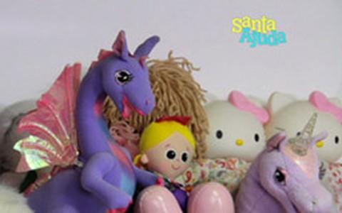Doar brinquedos é tarefa solidária para crianças