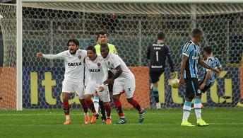Grêmio perde por 2 a 1  para o Vitória na Arena (Agência Estado)