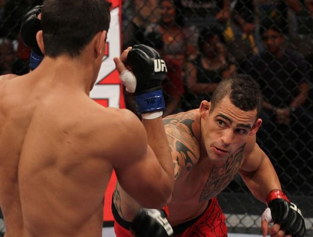 TUF - Santiago Ponzinibbio x Thiago Silva Bel (Foto: Divulgação/ UFC)