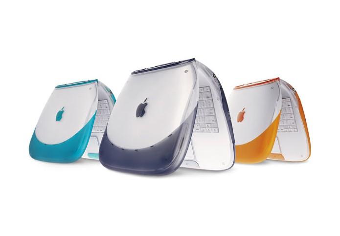iBook era um notebook voltado para o público doméstico (Foto: Divulgação/Apple)