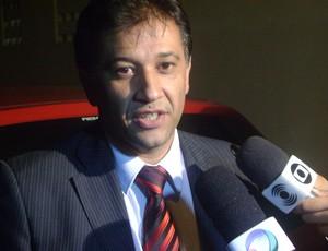 Afonso Vilar, advogado de Marcelinho Paraíba (Foto: Silas Batista)