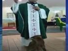 'Todos têm vez na casa do Pai', diz frei sobre cachorro que atrapalhou missa