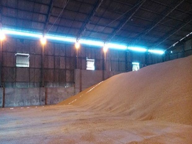 Galpão interditado por apresentar risco (Foto: Divulgação/Equipe dos Auditores Fiscais do Trabalho de Sergipe)