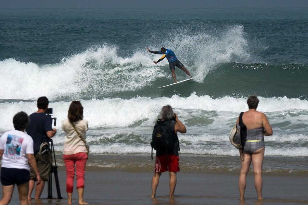 Wesley Dantas também deu adeus ao torneio no round 4 (Foto: Divulgação/ISA Games)