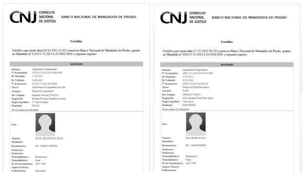 Banco de dados do CNJ possui dois mandados contra Rivotril (Foto: Reprodução/CNJ)