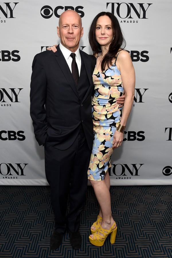 Mary-Louise Parker e Bruce Willis trabalharam juntos em nos dois 'Red' (Foto: Getty Images)