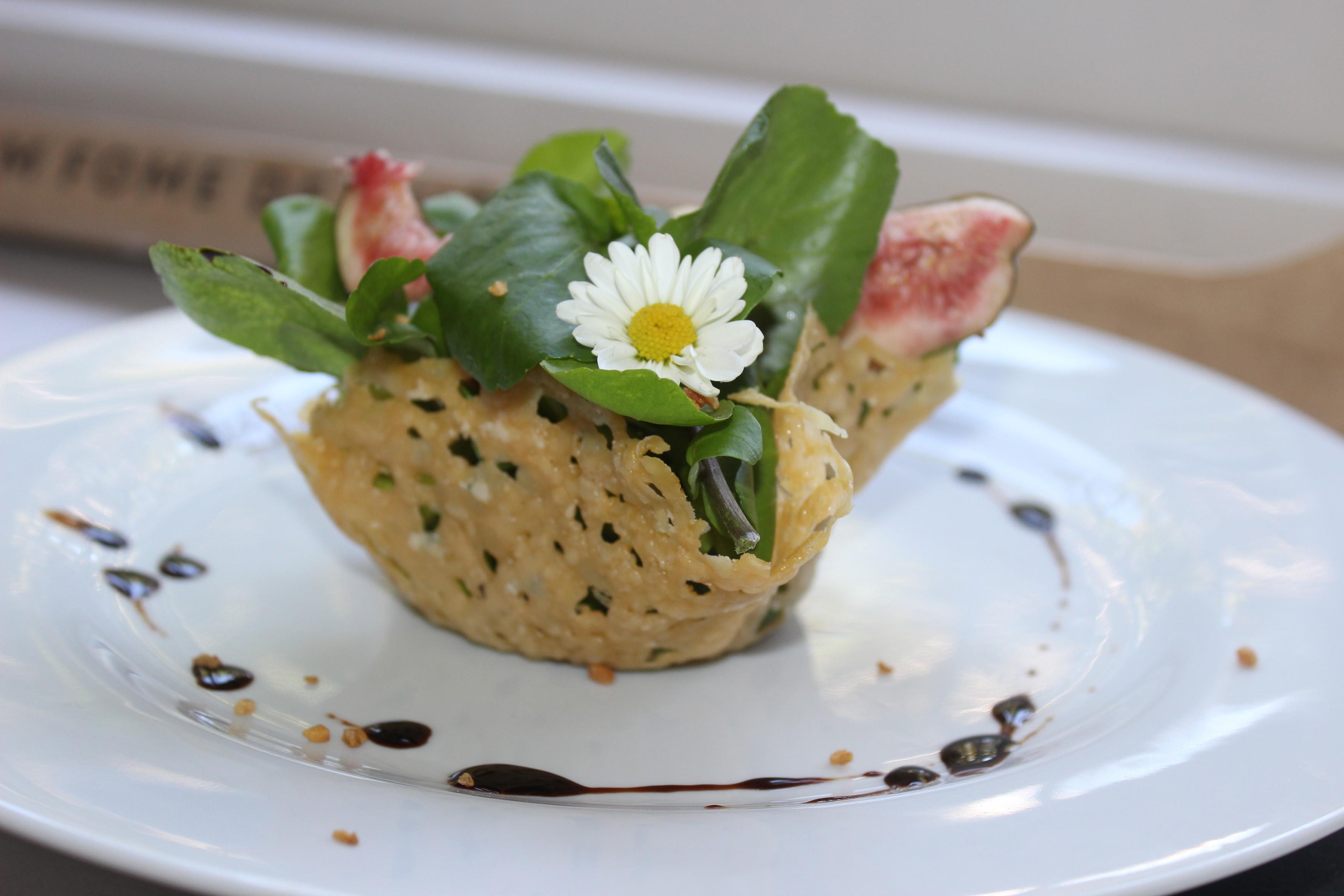 A salada mix de verdes da chef Ana Demaison Tranjan (Foto: Divulgação)
