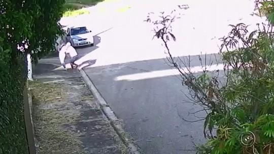 Câmera de segurança flagra tentativa de estupro à luz do dia em Votorantim