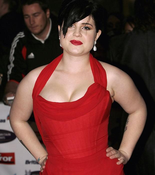 Kelly em 2005, quando ainda brigava com a balança (Foto:  Getty Images)