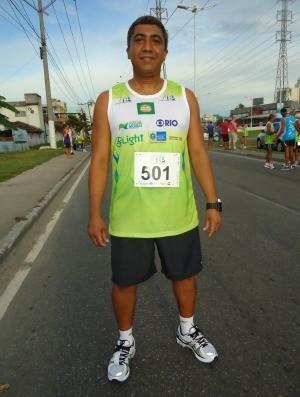 José Eduardo Alves Corrida de Nova Iguaçu estilo corredor (Foto: Igor Christ/GLOBOESPORTE.COM)
