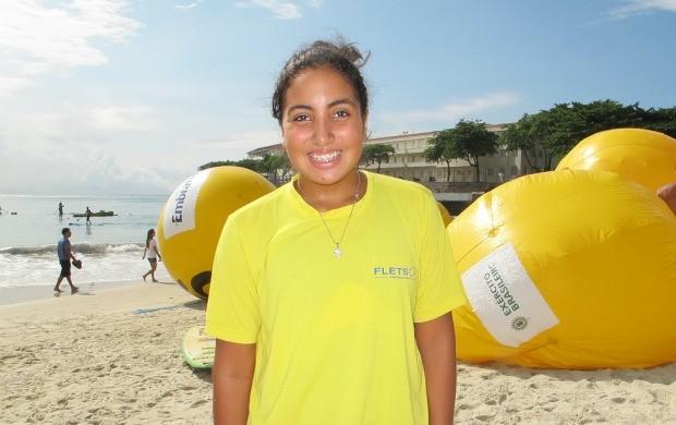 Giovana Alves Travessia dos Fortes (Foto: Igor Christ/Globoesporte.com)