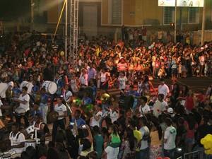 PM estima que 50 mil pessoas estiveram no desfile (Foto: Taisa Alencar / G1)