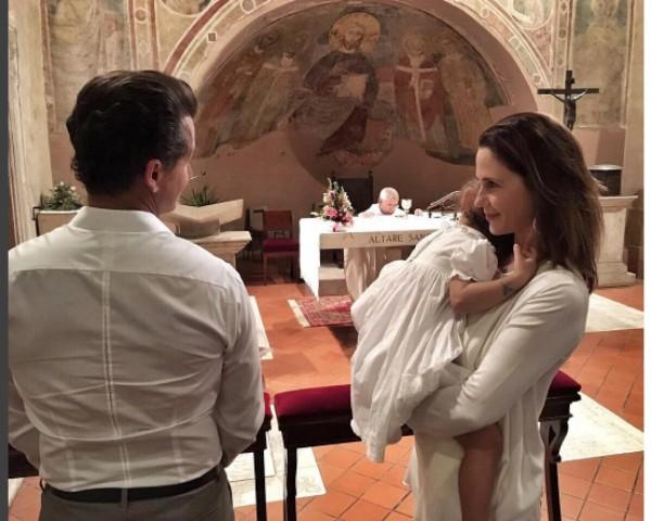 Guilhermina Guinle comemora aniversário da filha em Missa no Vaticano (Foto: Reprodução/Instagram)