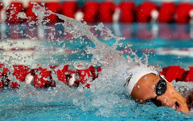 Laure Manaudou Maria Lenk natação (Foto: Satiro Sodré/AGIF)