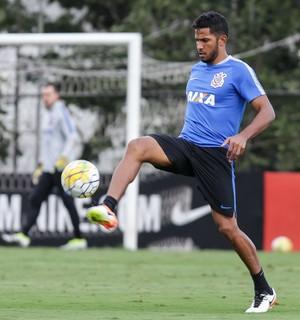 Yago treino Corinthians (Foto: Daniel Augusto Jr/Ag. Corinthians)