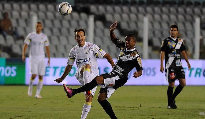 Thiago Ribeiro atacante Santos Mixto (Foto: Ivan Storti / Santos FC)
