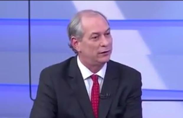 """Ciro Gomes afirmou que Dilma é """"frouxa"""" (Foto: Reprodução)"""