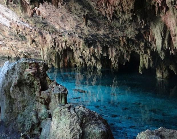 Maior caverna submersa do mundo é descoberta no México (Foto: Reprodução)