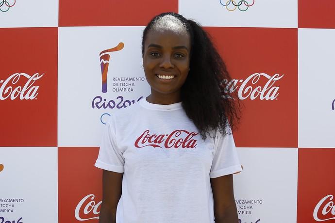 Fabiana Claudino, meio-de-rede e capitã da Seleção Brasileira de vôlei e do Sesi-SP (Foto: Divulgação/Coca-Cola)