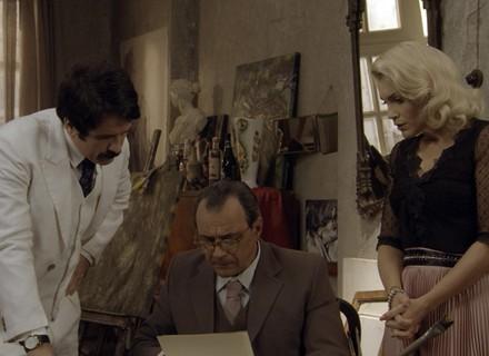 Sandra falsifica assinatura de Anastácia