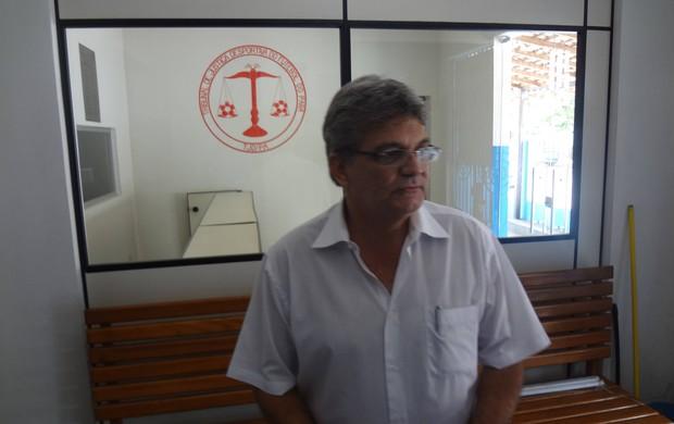 Cristino Mendes não descartou uma reviravolta na decisão do STJD (Foto: Gustavo Pêna)