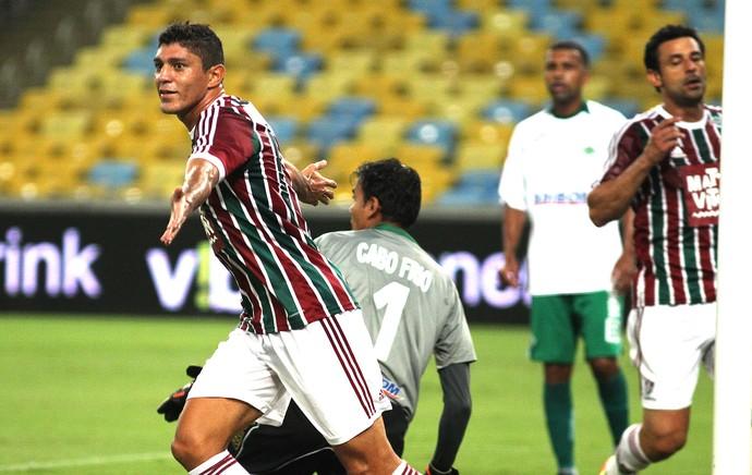 Edson, Fluminense X Cabofriense (Foto: Nelson Perez / Fluminense)