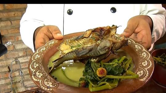 Chef ensina receita de tamuatá na brasa com molho cremoso de tucupi