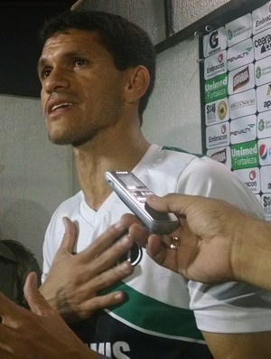 Magno Alves, Ceará, treino (Foto: Juscelino Filho)