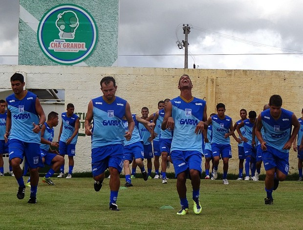 chã grande treino (Foto: Lula Moraes / GloboEsporte.com)
