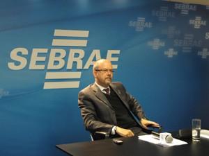 Para Luiz Barretto, presidente do Sebrae, principal contribuição do MEI à economia é a formalização (Foto: Gabriela Gasparin/G1)