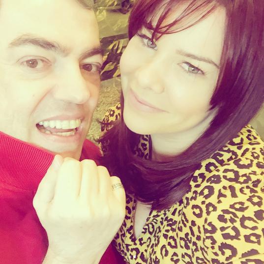 Fernanda Souza e Marco Antônio de Biaggi (Foto: Instagram/Reprodução)