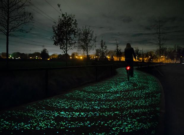 ciclovia que brilha (Foto: Divulgação)