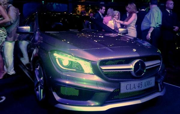 Mercedes CLA 45 AMG chega ao Brasil em julho (Foto: Leandro Alvares/ Autoesporte)