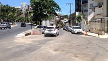 Barreiras entre orla e Garibaldi são retiradas (Henrique Mendes / G1)