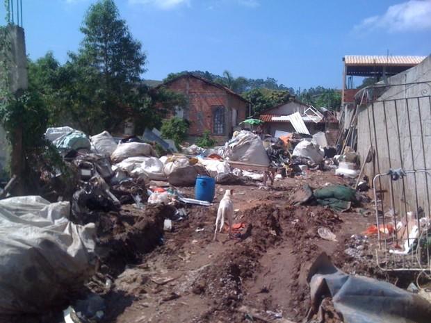 44 toneladas de lixo são retiradas em São José dos Campos (Foto: Claudio Capucho/PMSJC)