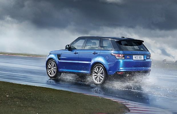 Land Rover Range Rover Sport SVR (Foto: Land Rover)
