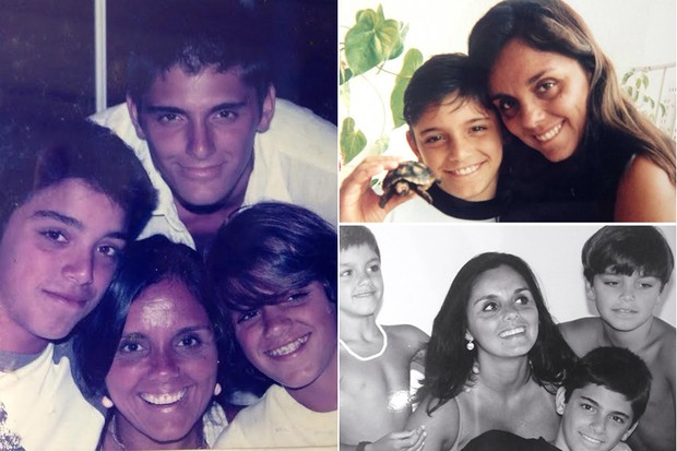 Rodrigo, Felipe Simas, Bruno Gissoni e Ana Simas (Foto: Arquivo Pessoal)