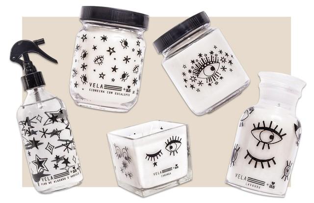 Vela_ Made in SãoPaulo lança edição limitada de velas em parceria com Ana Strumpf (Foto: Divulgação)