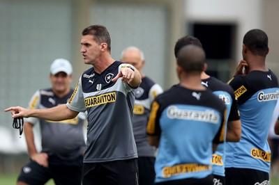 Vagner Mancini treino Botafogo (Foto: Satiro Sodré/SSPress)
