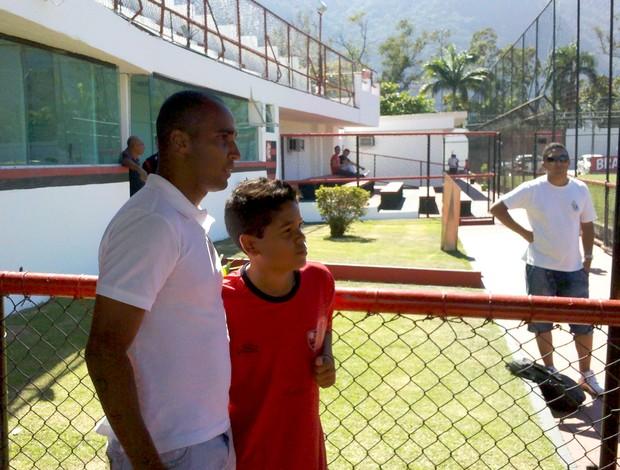 Deivid Flamengo (Foto: Richard Souza / Globoesporte.com)