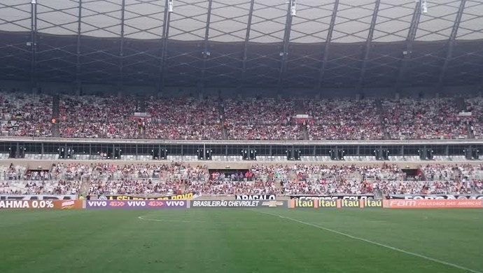 Atlético-MG x Chapecoense; Mineirão (Foto: Rafael Araújo)