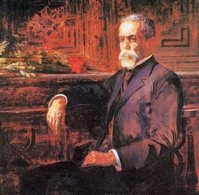 CONSAGRADO Retrato de Machado de Assis por Henrique Bernardelli, de 1905. Por trás do vulto literário, o homem solitário sentia a falta de Carolina e dos amigos (Foto: Quadro de Henrique Bernardelli (1905)/Acervo ABL)