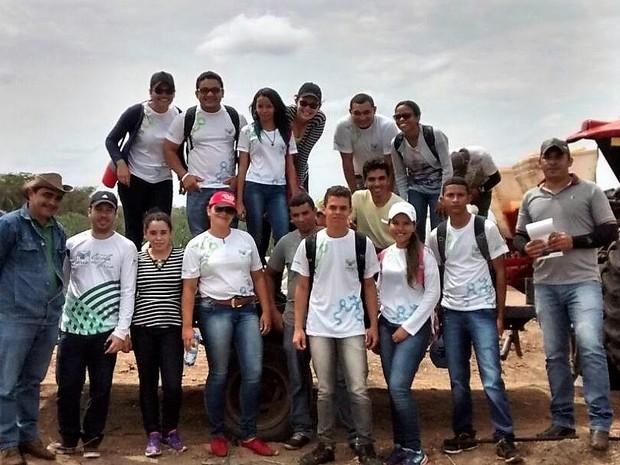 Alunos do curso de Agronegócio  promovido pelo Senar no polo Colinas (MA) (Foto: Divulgação/Senar)
