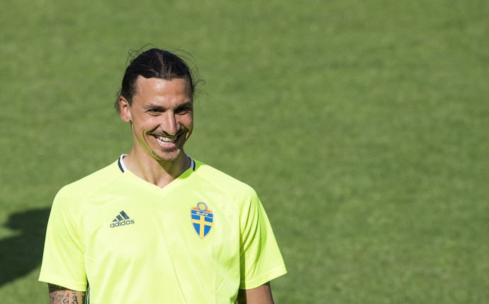 Ibrahimovic Suécia Eurocopa (Foto: AFP)