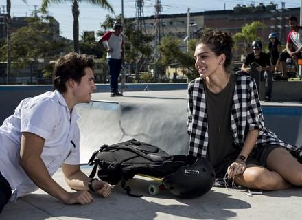 Ciça elogia sorriso de Rodrigo e rola clima entre os dois
