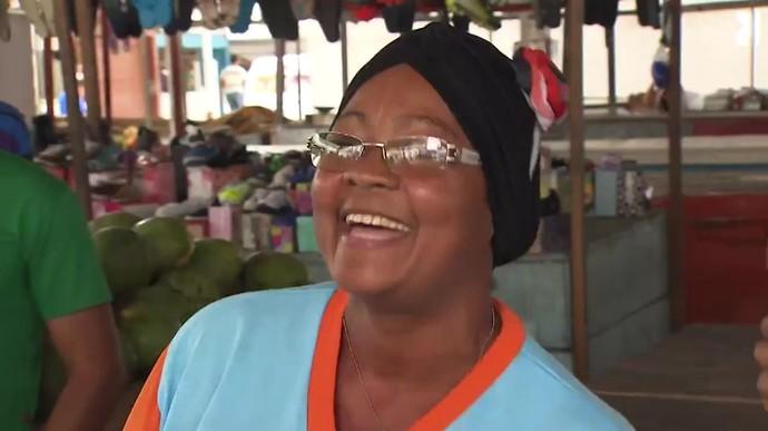 Tia Val sonha em cozinhar no programa 'Mais Você', da Ana Maria Braga (Foto: TV Bahia)